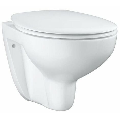 Grohe Bau Ceramic WC suspendu sans bride, blanc alpin (39351000)