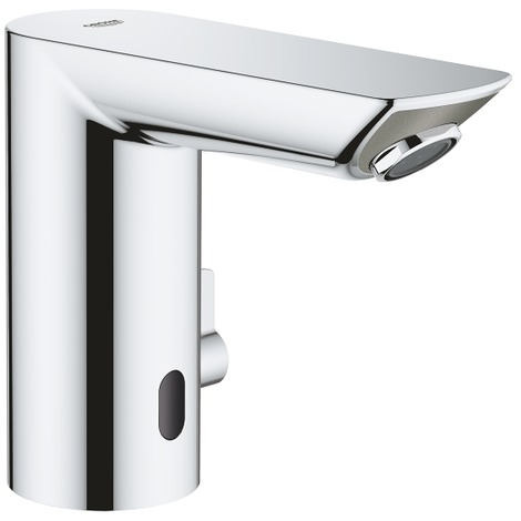 "Grohe Bau Cosmopolitan E Infra-red electronic basin mixer 1/2"", Chrome (36453000)"