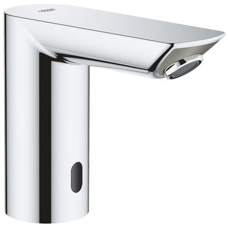 "Grohe Bau Cosmopolitan E Infra-red electronic basin tap 1/2"" without mixing device, Chrome (36452000)"