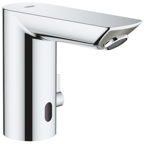 """main image of """"Grohe Bau Cosmopolitan E Infrared basin mixer 1/2″ with adjustable temperature limiter, Chrome (36453000)"""""""