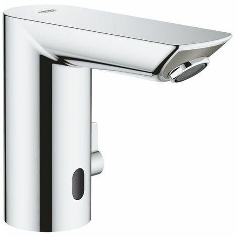 Grohe Bau Cosmopolitan E Mitigeur lavabo infrarouge 1/2″ avec limiteur de température ajustable, Chromé (36453000)