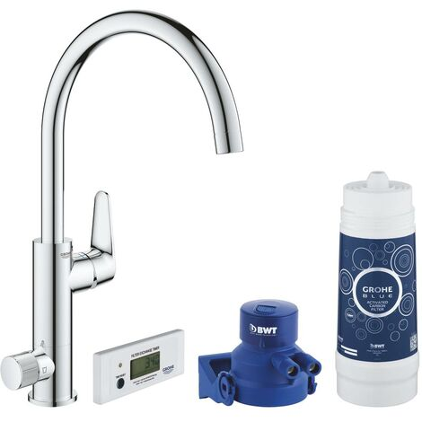 GROHE BLUE PURE BAUCURVE STARTER KIT GROHE BLUE