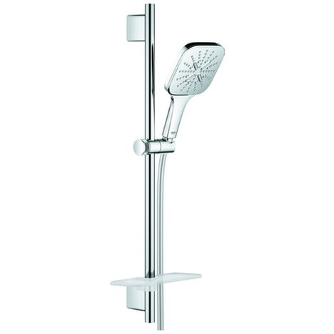 GROHE Brausest.-Set RSH 130 SmartActive 26584 Cube 600mm 9,5l Ablage chrom, 26584000