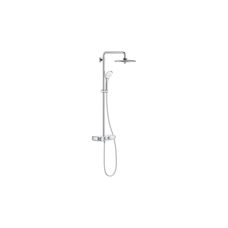 grohe - colonne de douche thermostatique euphoria smartcontrol system 260 mono