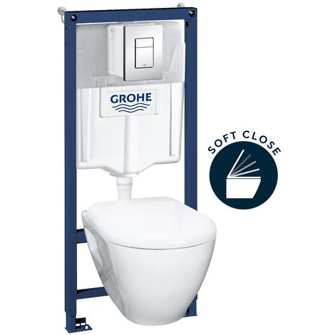 Grohe Complete pack toilets Grohe Solido Compact (39186000)