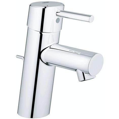Grohe Concetto basin mixer tap with waste