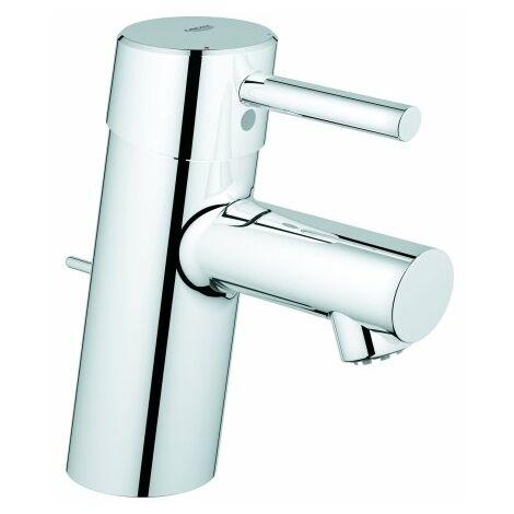 Grohe Concetto Mezclador monomando para lavabo, tamaño S con desagüe, baja presión - 23060001