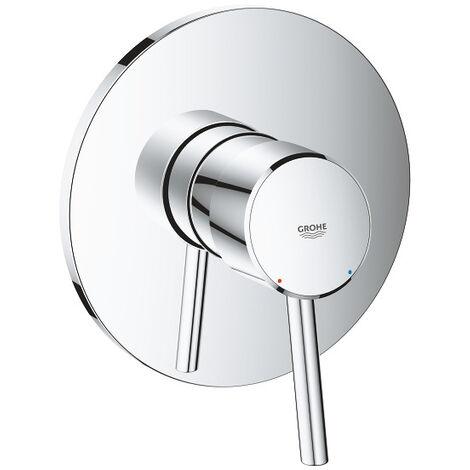 Grohe Concetto Mitigeur mécanique de douche, 1 sortie, Chrome (24053001)