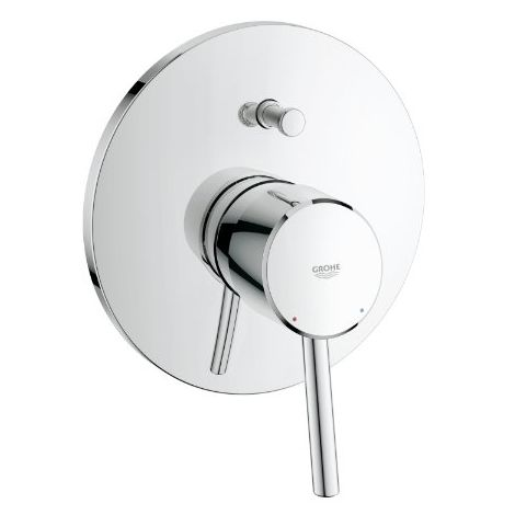 Grohe Concetto one-hand bath mixer, complete installation set - 19346001