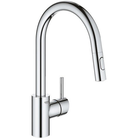 Grohe Concetto - Single lever kitchen mixer (31483002)