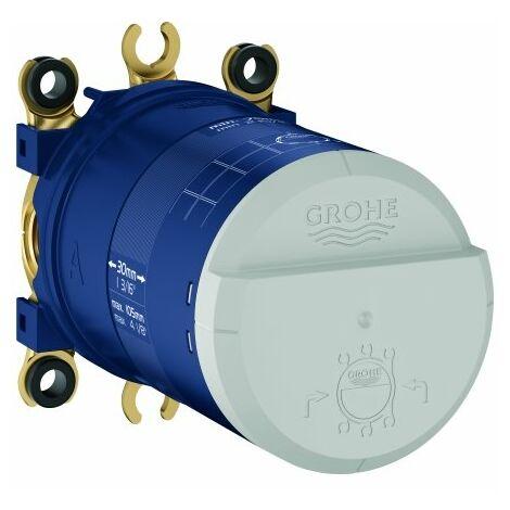 Grohe Corps encastré Rainshower, DN 15, pour ensemble pomme de douche, stabilisateur de débit GROHE EcoJoy - 26484000