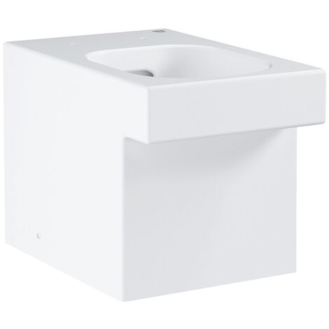 Grohe Cube Ceramic floor standing back to wall wc, alpine white