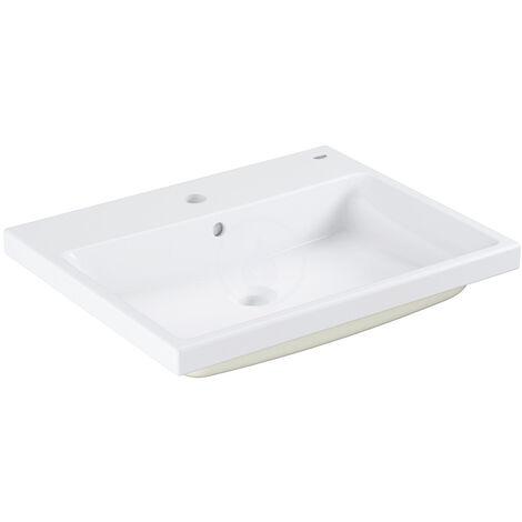 Grohe Cube ceramic Vasque à encastrer par dessus 60 cm, blanc alpin (3947900H)