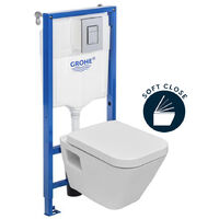 Grohe Diagonal Complete Toilet Pack (DG10SET)