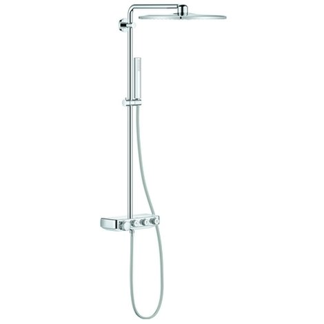 Grohe Duschsystem Euphoria SmartControl 310 Cube Duo mit Thermostat chrom, 26508000