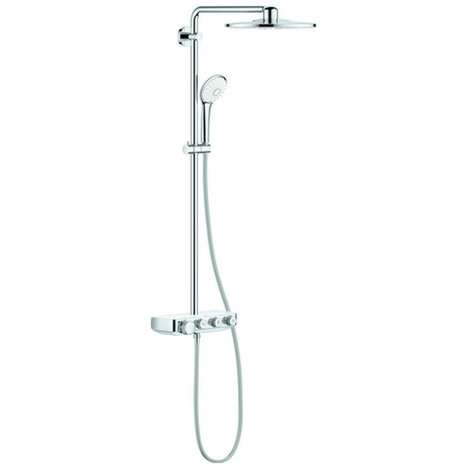 Grohe Duschsystem Euphoria SmartControl 310 Duo 26507 mit Thermostat moon white, 26507LS0
