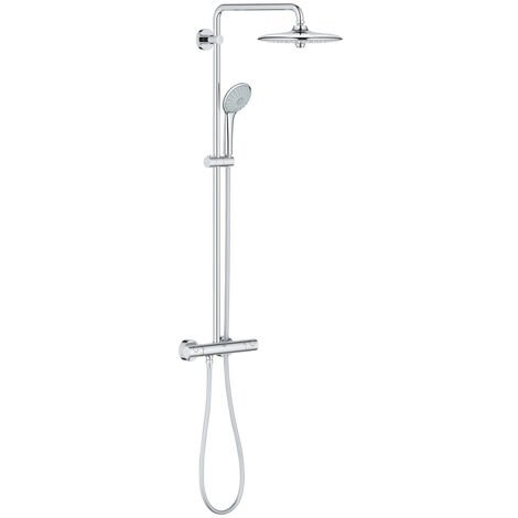 Grohe EcoJoy Euphoria System 260 with thermostat for wall mounting (27615001)