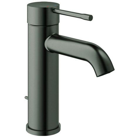 Grohe Einhand-Waschtischarmatur Essence 235 x 1 S-Size hard graphite gebürstet