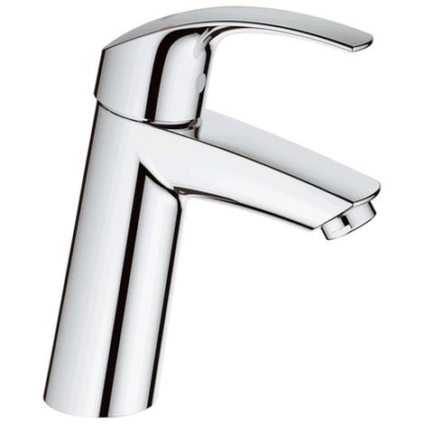 Grohe Einhand-Waschtischarmatur Eurosmart 23324 mittelhoch glatter Körper chrom, 23324001