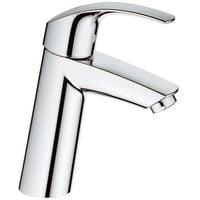 GROHE Einhand-Waschtischbatt. Eurosmart 23324 mittelhoch glatter Körper chrom 23324001
