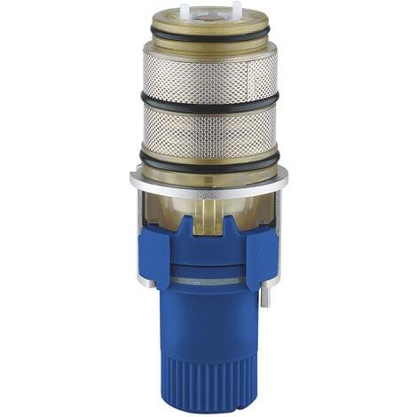 """Grohe Elément thermostatique 1/2"""", modèle inversé pour eau chaude à droite (47175000)"""