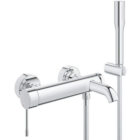 "main image of ""Grohe Essence 1/2"" single lever bath/shower mixer (33628001)"""