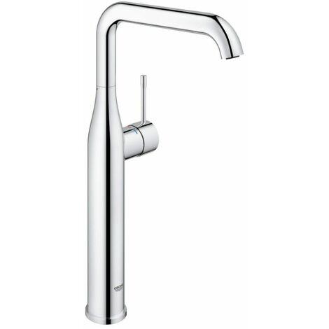 Grohe ESSENCE NEW - Mitigeur monocommande, 1/2' pour lavabo Taille XL SuperSteel (32901DC1)