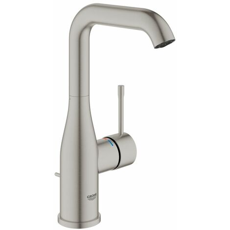 Grohe ESSENCE NEW - Mitigeur monocommande Lavabo Taille L SuperSteel (32628DC1)