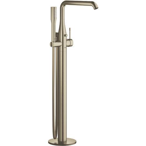"Grohe Essence Single-lever bath mixer 1/2"", floor mounted, Brushed Nickel (23491EN1)"