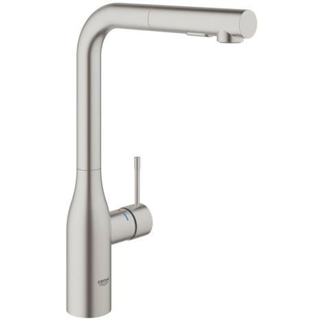 "Grohe Essence Single-lever sink mixer 1/2"" Supersteel (30270DC0)"