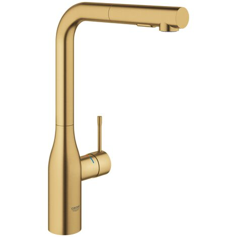 """main image of """"Grohe Essence Single lever sink mixer - Brushed Cool sunrise (30270GN0)"""""""