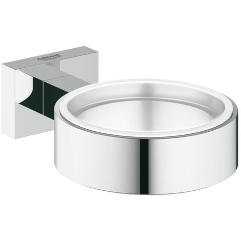 Grohe Essentials Cube Glass/soap dish holder