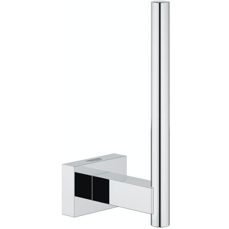 Grohe Essentials Cube spare toilet roll holder