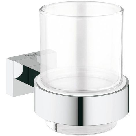 Grohe Essentials Cube Verre avec support