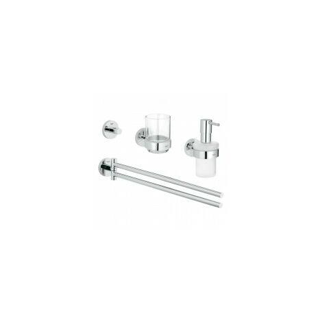 Grohe Essentials set de bain 4 en 1 chrome - 40846001