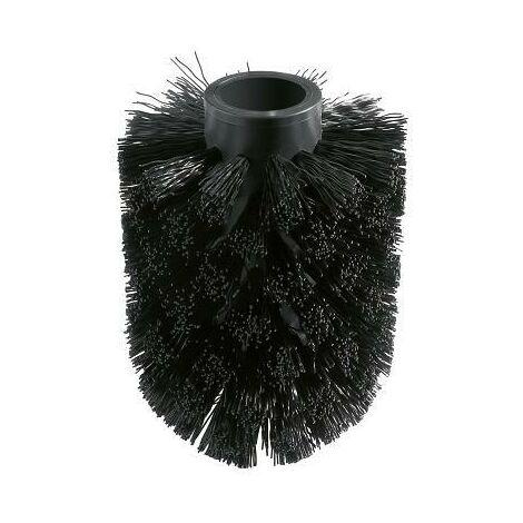 Grohe Essentials Tête de brosse WC pour rechange, noir (40791KS1)