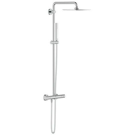 Grohe Euphoria 230 Shower system with thermostat for wall mounting (26187000)