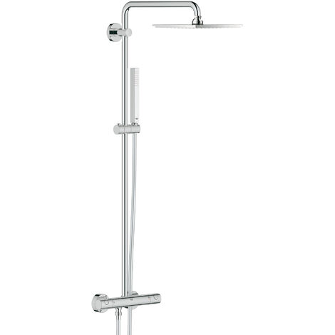 Grohe Euphoria shower system with Allure 230 metal shower head - 26187000