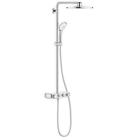 Grohe Euphoria SmartControl Shower System 310 Duo Diverter Thermostatic Chrome