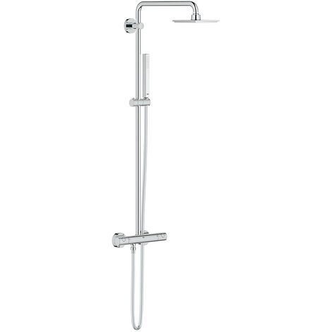 Grohe Euphoria System 150 - Shower system with thermostatic mixer for wall mounting (27932000)