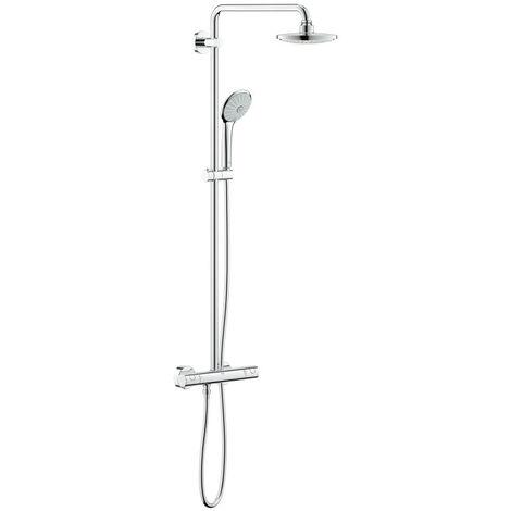 Grohe Euphoria System 180 Colonne de douche avec mitigeur thermostatique (G-27296001)