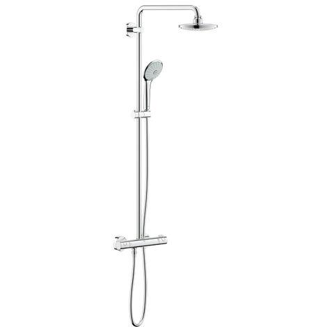 Grohe EUPHORIA SYSTEM 180 E - Colonne de douche avec mitigeur thermostatique (26418000)