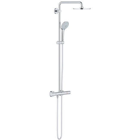 Grohe Euphoria System 210 Shower system with Safety Mixer for wall mounting, Chrome (26383000)