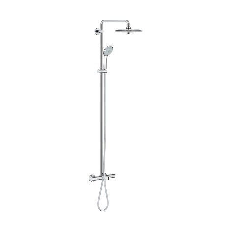 Grohe Euphoria System 260 shower system with thermostatic bath mixer, wall mounting - 27475001