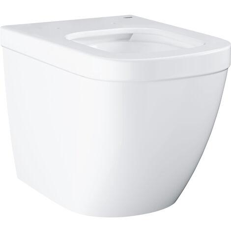 Grohe Euro Ceramic Cuvette WC à poser au sol avec PureGuard, blanc alpin (3933900H)