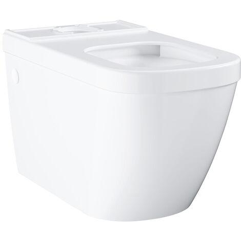Grohe Euro Ceramic Cuvette WC à poser, Triple Vortex, blanc alpin (39338000)