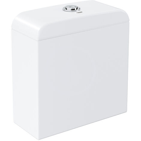 Grohe Euro Ceramic Exposed flushing cistern, Alpine White (39332000)