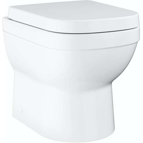 Grohe Euro Ceramic floorstanding toilet with soft close seat