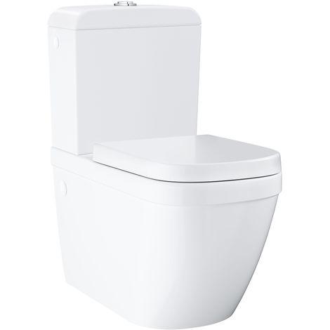 Grohe Euro Ceramic Pack WC à poser haut de gamme (39462000)