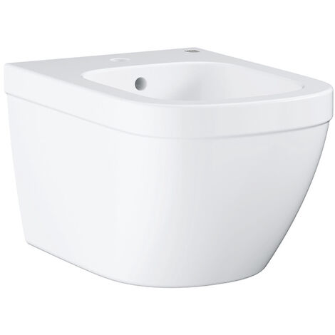 Grohe Euro Ceramic Wall hung bidet, Alpine White (39208000)